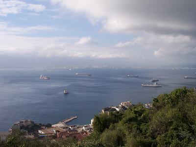 Gibraltar. Bahía de Algeciras