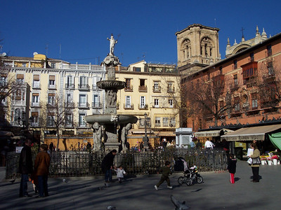 Granada. Plaza de Bib-Rambla