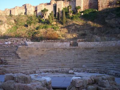 Málaga. Teatro romano