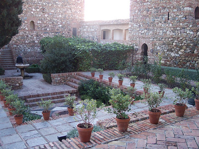 Málaga. Alcazaba