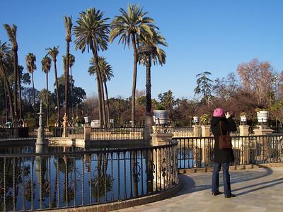 Sevilla. Parque de María Luisa