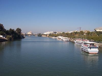 Sevilla. Río Guadalquivir