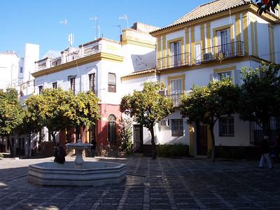 Sevilla. Barrio de Santa Cruz