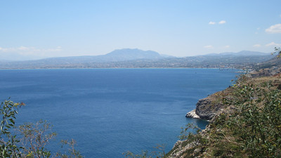 The coast around Heraklion