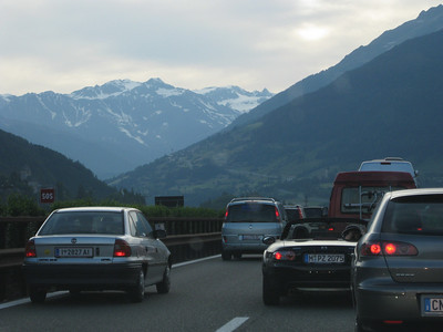 Crossing the Alps. The Brenner Pass