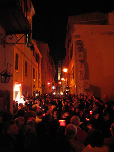 Alghero. Easter procession