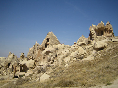 Göreme National Park. Way to Swords Valley