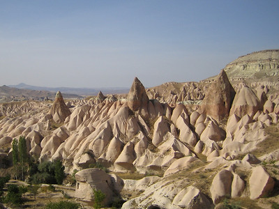 Göreme National Park. Rose-Red Valley