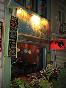 Istanbul. Spanish bar