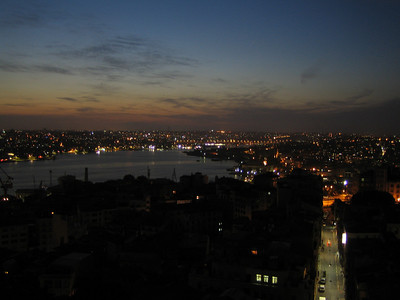 Istanbul. Golden Horn from Galata tower