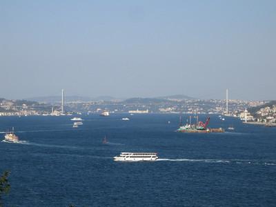 Istanbul. The Bosphorus