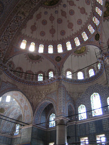 Istanbul. Sultan Ahmed Mosque (Blue Mosque)