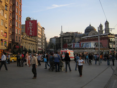 Istanbul. Taksim