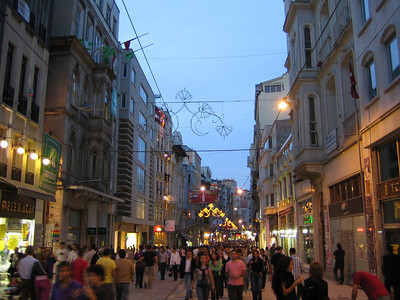 Istanbul. Istiklal caddesi