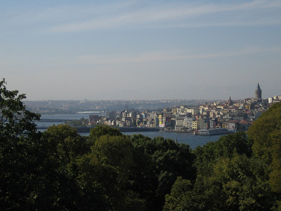 Istanbul. View from Topkapi Palace