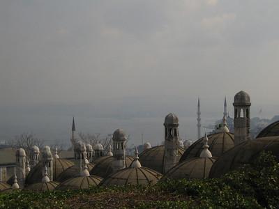 Istanbul. View from Süleymaniye