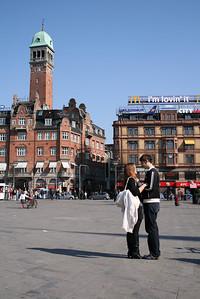 Copenhagen. Raadhus pladsen