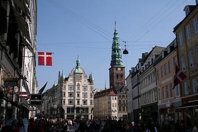 Copenhagen. Strøget