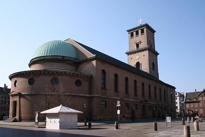 Copenhagen. Vor Frue kirke