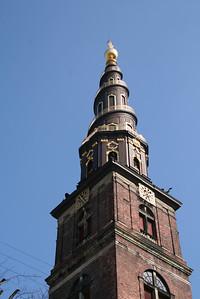 Copenhagen. Vor Frelsers kirke
