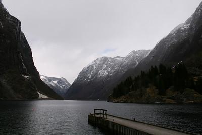 Nærøyfjorden at Gudvangen