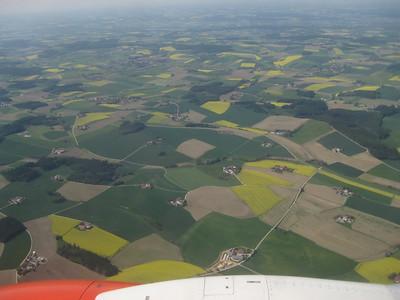 Flying over Bavaria