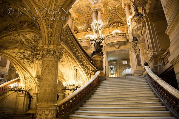 Grand Staircase, Palais Garnier (Opera House), Paris, France