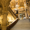 Grand Staircase, Palais Garnier (Opera House), Paris, France