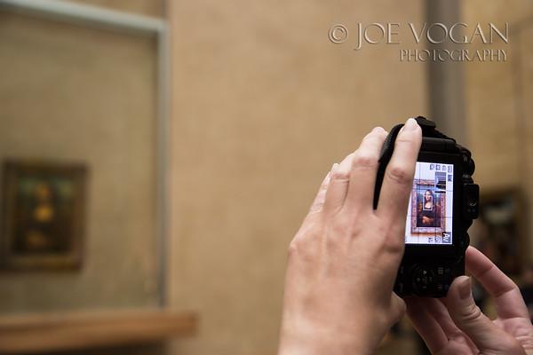 The Mona Lisa (Leonardo da Vinci), The Louvre Museum, Paris, France