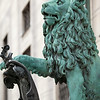 Lion Statue, Munich Residenz or Residence, Munich, Germany