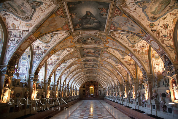 Hall of Antiquities or Antiquarium, Munich Residenz or Residence, Munich, Germany