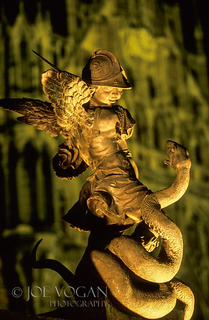 Putto Statue, Marienplatz, Munich, Germany