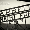 Entrance gate, Dachau Concentration Camp, Germany