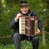 Accordian Player, English Garden, Munich, Germany