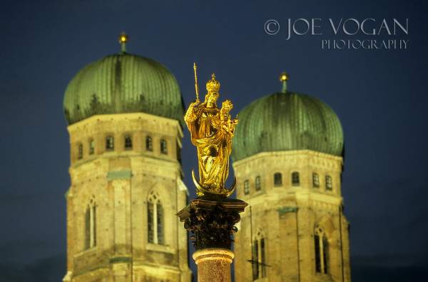 Frauenkirche, Cathedral of Our Blessed Lady, Munich, Germany