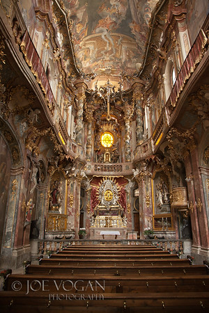 St. Johann Nepomuk or Asam Church, Munich, Germany