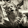 Grotesque on New Town Hall or Neues Rathaus in Marienplatz, Munich, Germany