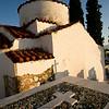 Rural Chapel and Cemetery, Peloponnese, Greece
