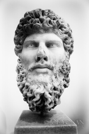 Sculpture Bust, National Archaeological Museum, Athens, Greece