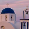 Church near Pyrgos, island of Santorini, Greece