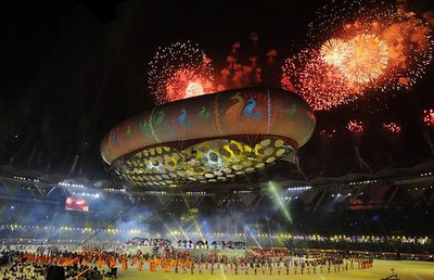 The 2010 Commonwealth Games – Grand opening ceremony