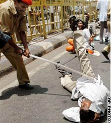 Medical Strike in India - May 2006