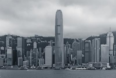 Hong Kong Island, from Tsim Sha Tsui