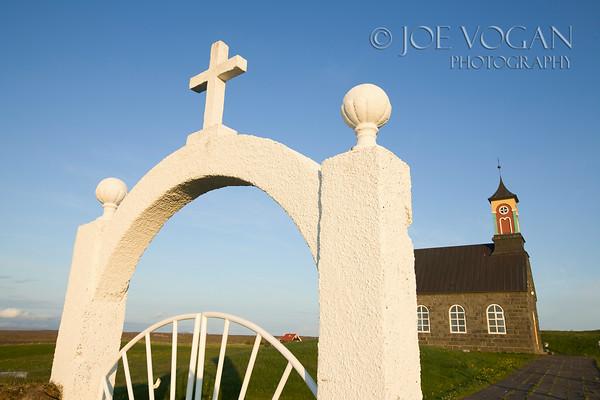 Hvalsneskirkja Church, Reykjanes Peninsula, Iceland