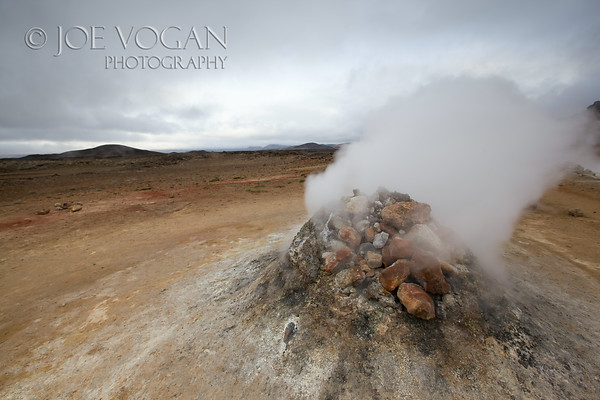 Fumarole, Namafjall geothermal area, Iceland
