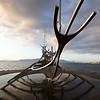 Solfar (Sun Voyager) Sculpture, Reykjavik, Iceland by Jon Gunnar Arnason