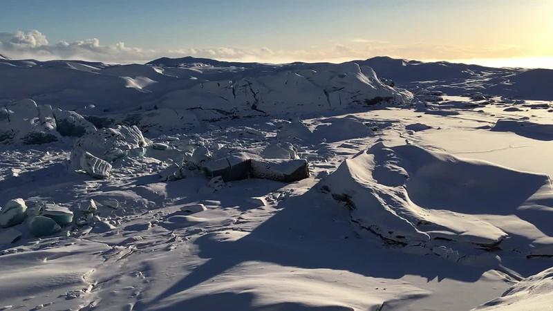 Svínafellsjökull Valley