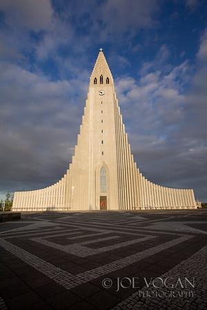 Hallgrimskirkja, Cathedral of Iceland, Reykjavik, Iceland