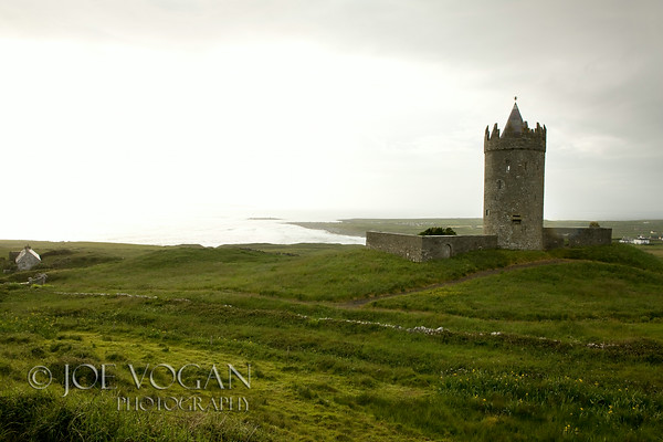 Tower near Doolin, County Clare, Ireland