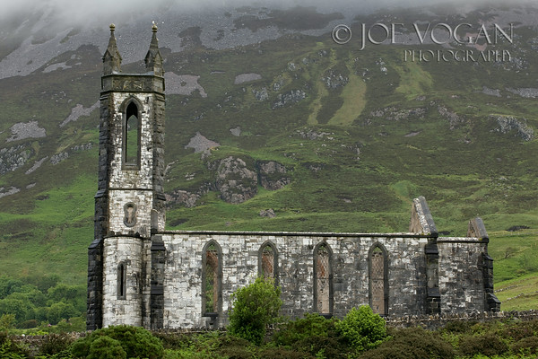 Dunlewey Church of Ireland, Donegal County, Ireland